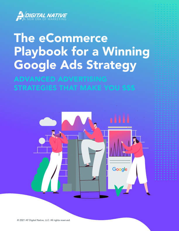 Google Ads Strategy Ebook Cover