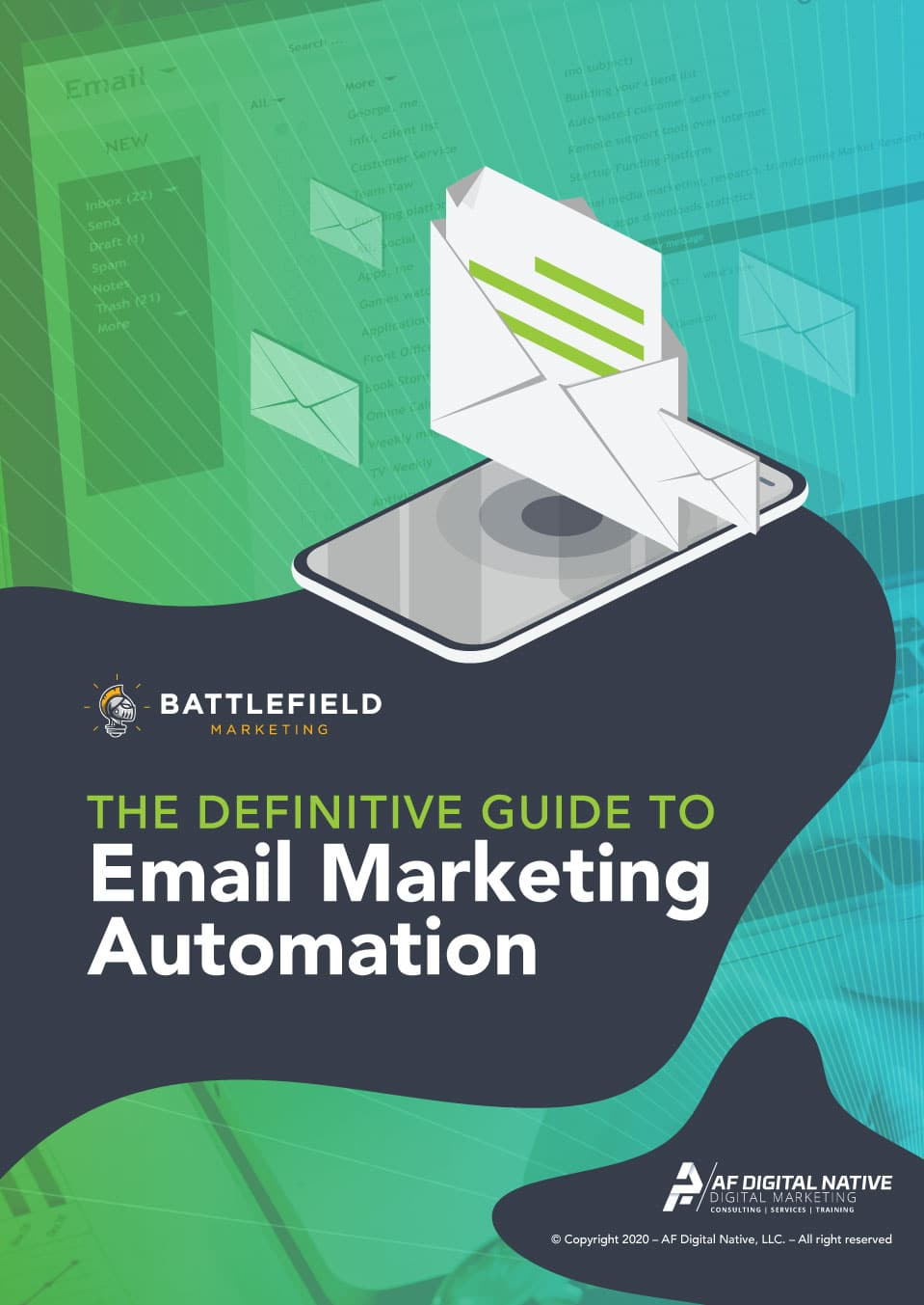 Definitive Guide to Email Marketing Automation Cover