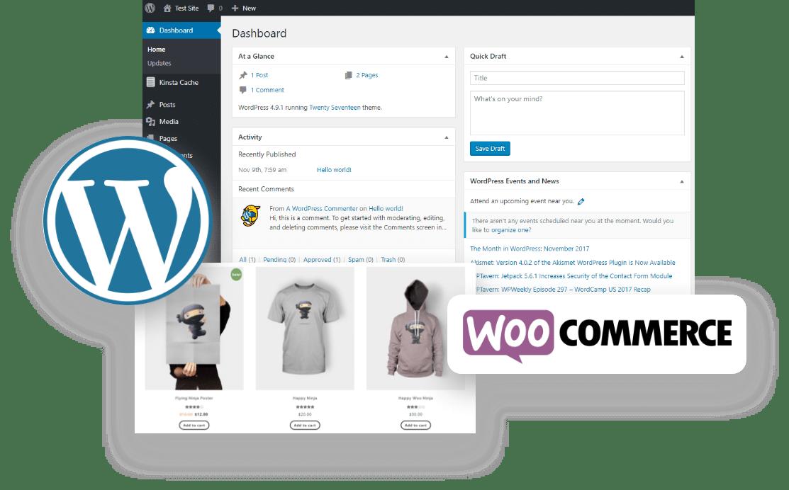 WordPress + Woocommerce Marketing Support Services