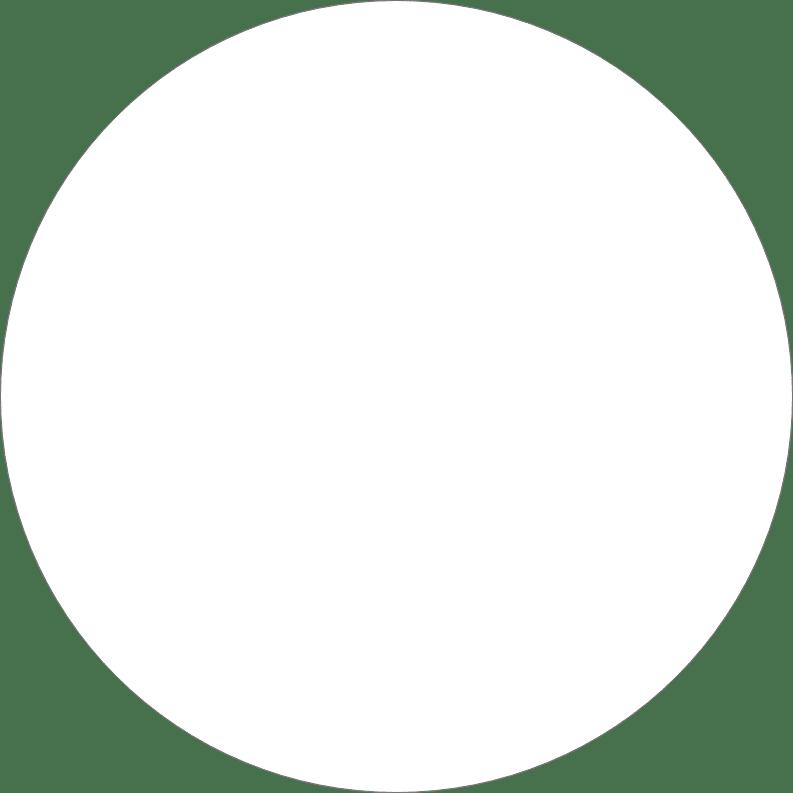 Large Ellipse White